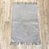 Grey Cotton Rug 2x3