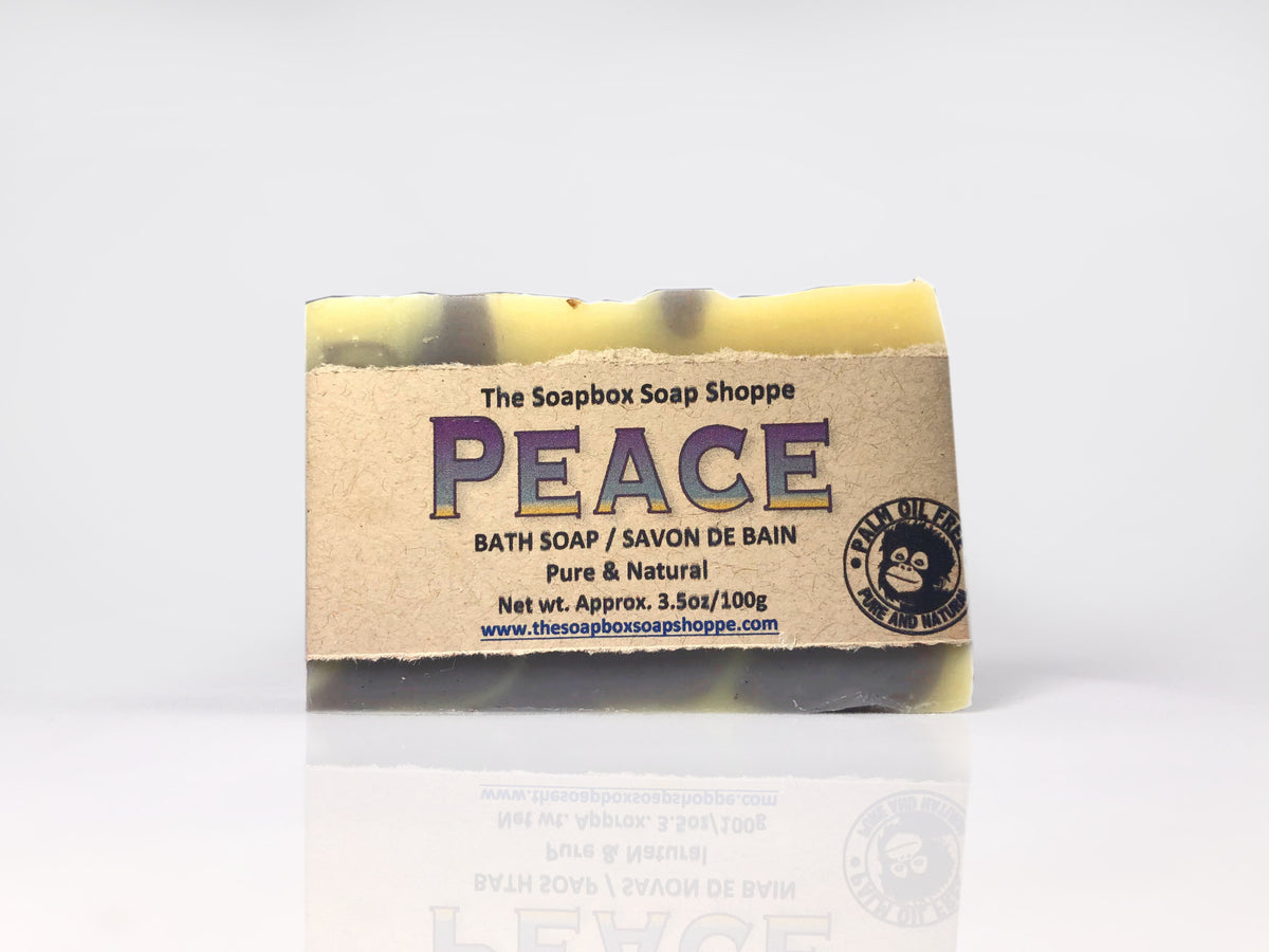 Peace Natural Soap Bar