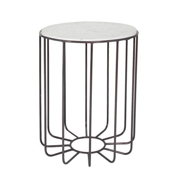 Rome Marble Accent Table