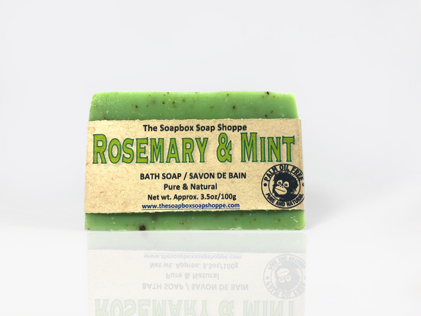 Rosemary Mint Natural Soap Bar