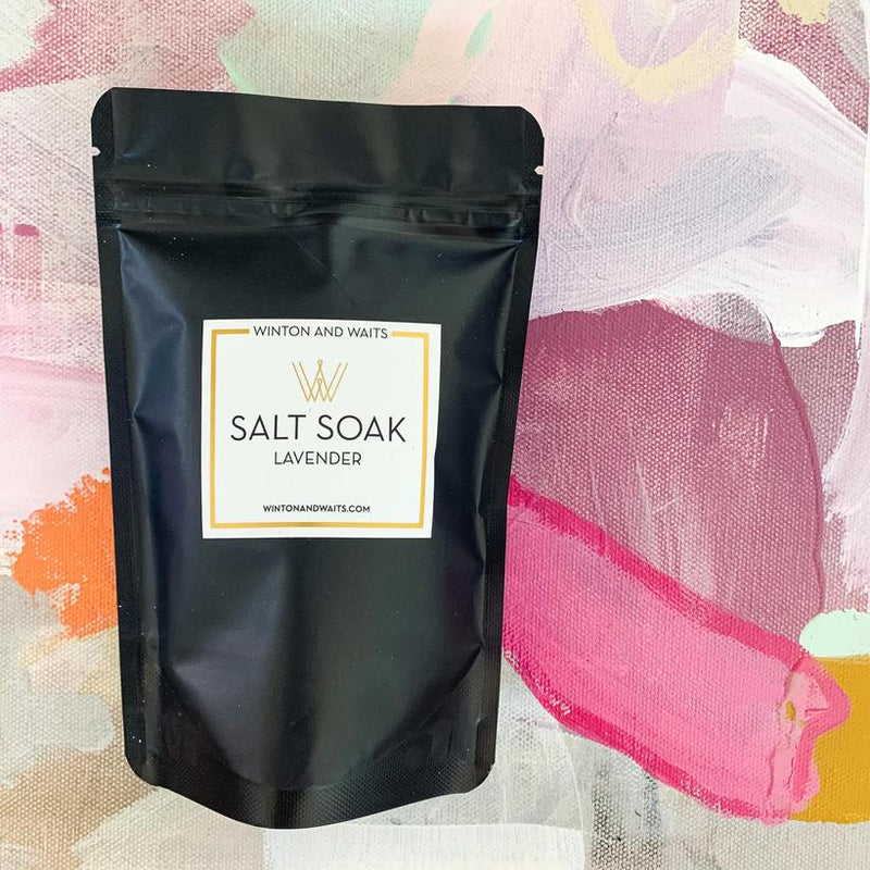 Lavender Travel Soak Salt