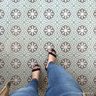Toledo Tile Allover Stencil