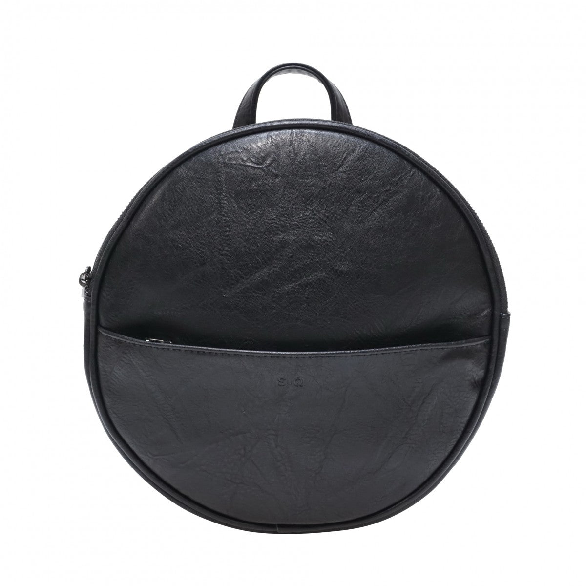 Jessa Round Convertible Backpack (Vegan Leather)