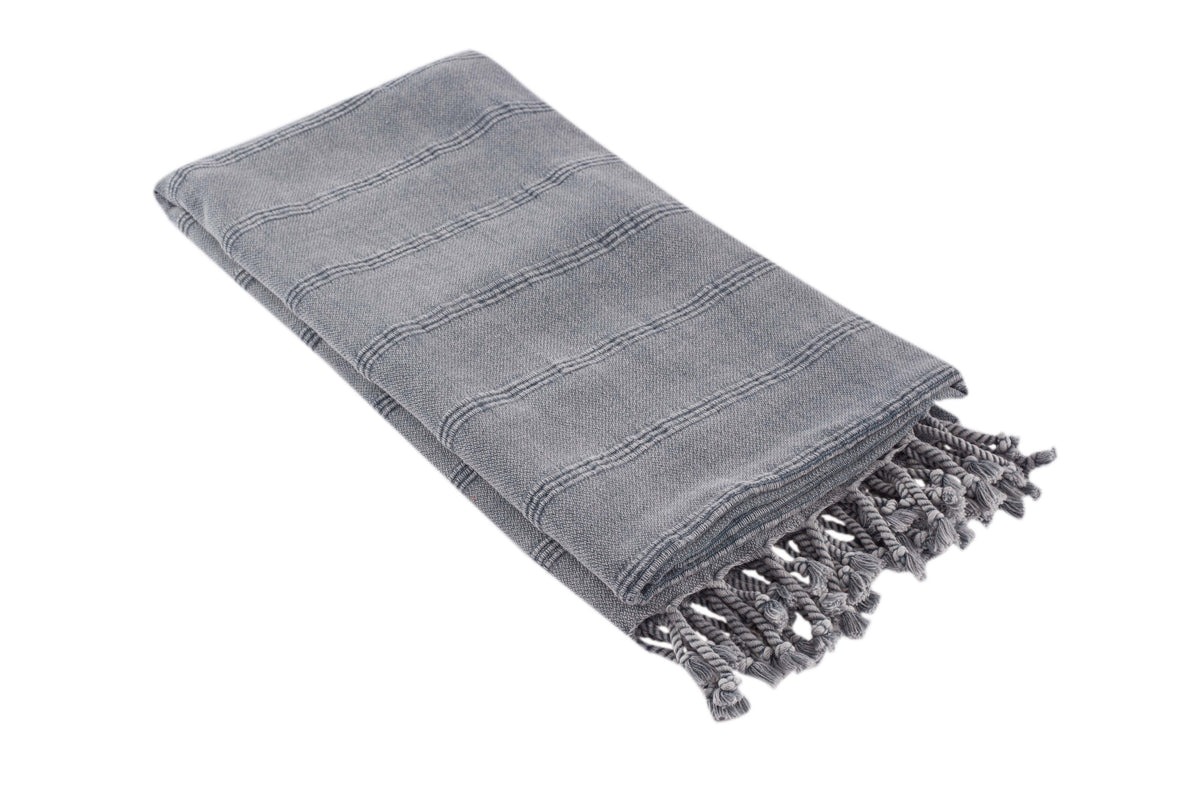 Stripe Stone Turkish Towel