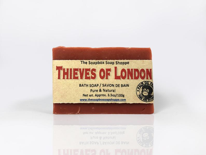 Thieves of London Natural Soap Bar