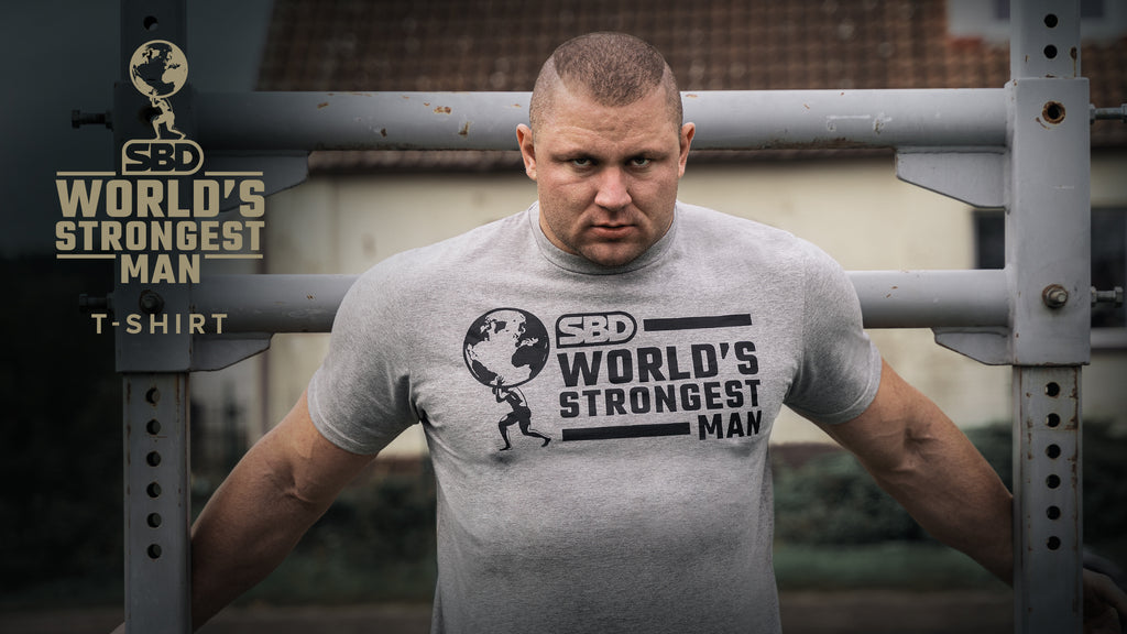 World's Strongest Man T-shirt