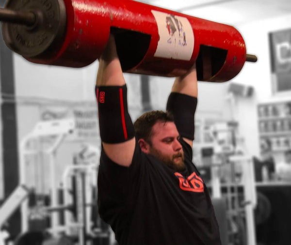 2012 England's Strongest Man and World's Strongest Man competitor, Chris Gearing, preparing for the 2014 season.