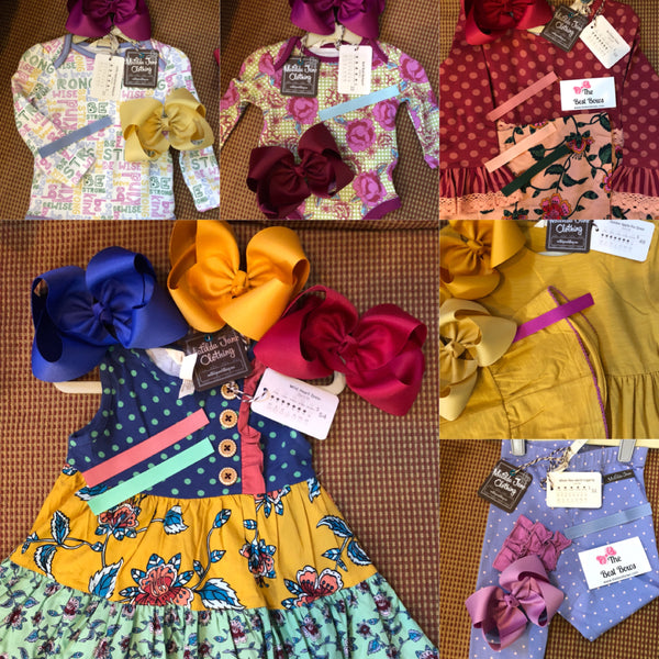 f2421dea36e8 Scroll down to purchase solid hair bow matches for Matilda Jane Clothing  Matches September 2018 Choose Your Own Path release 2.