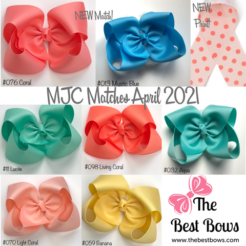 MJC Matches April 2021 Every Color and Style