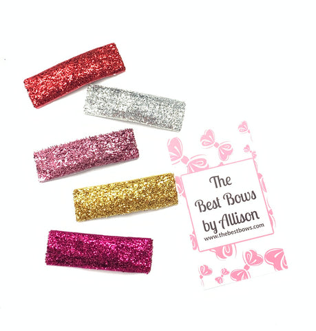 Glitter Snap Clippie Set