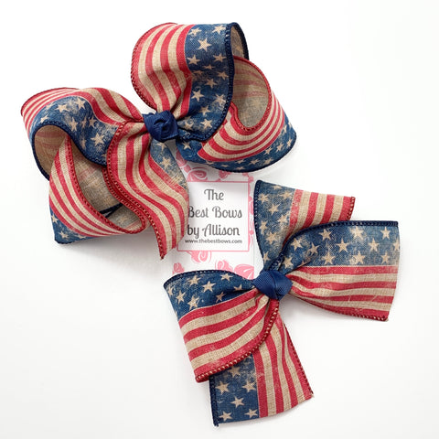 Old Glory Bow