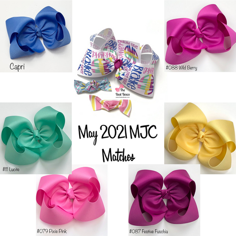 MJC Matches May 2021 Every Color and Style