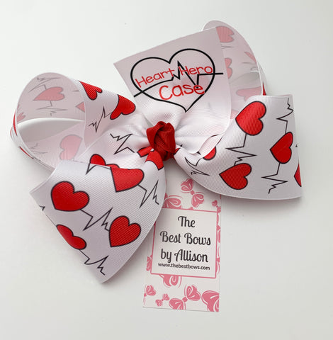 Heart Hero Case Bow