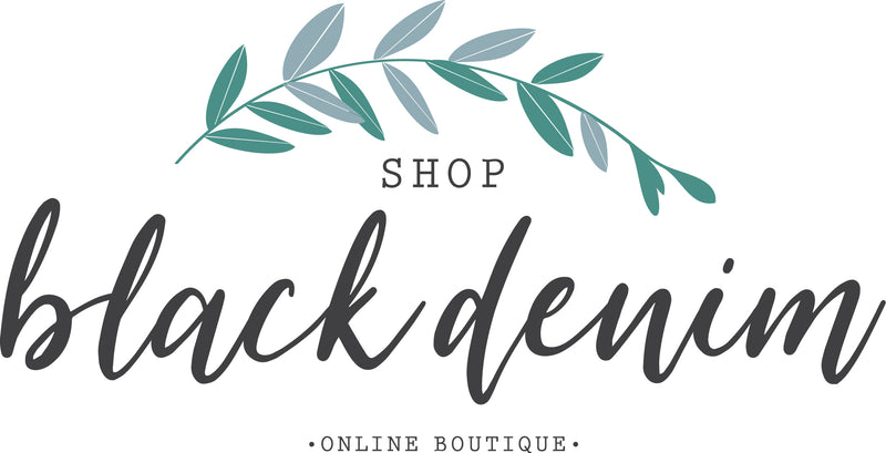 Shop Black Denim Online Boutique