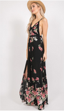 flawless in floral maxi