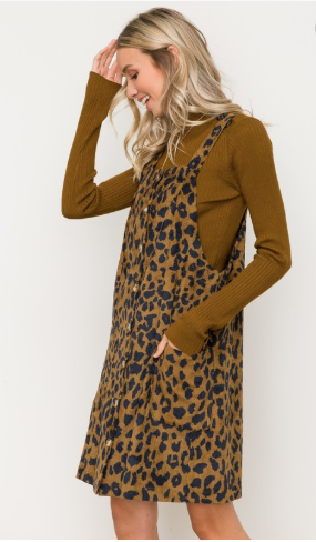 into the wild corduroy dress