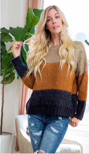 fall color palette sweater