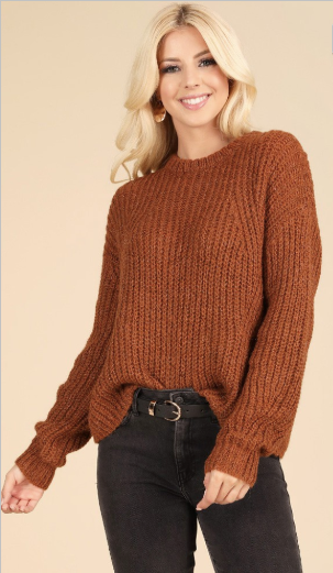 weekend in breckenridge knit sweater