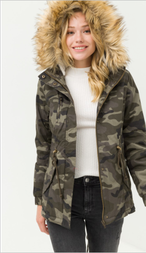 camo in colorado coat