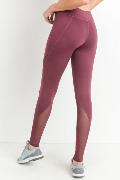 the plum leggings