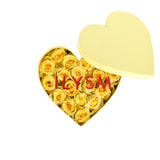Petite Yellow Pillow Talk Heart