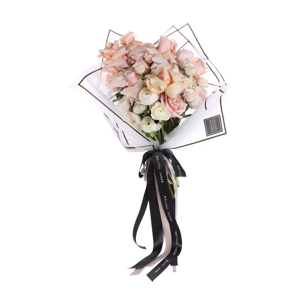Signature Made You Blush Bouquet
