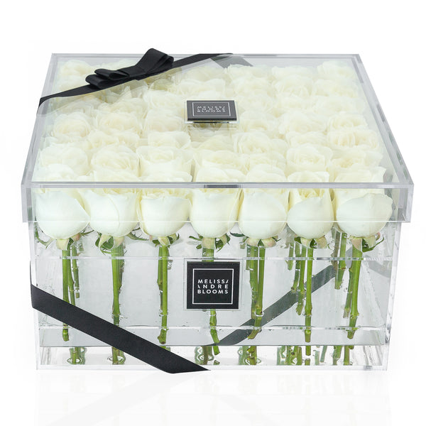 Ivory Large Bloom Box