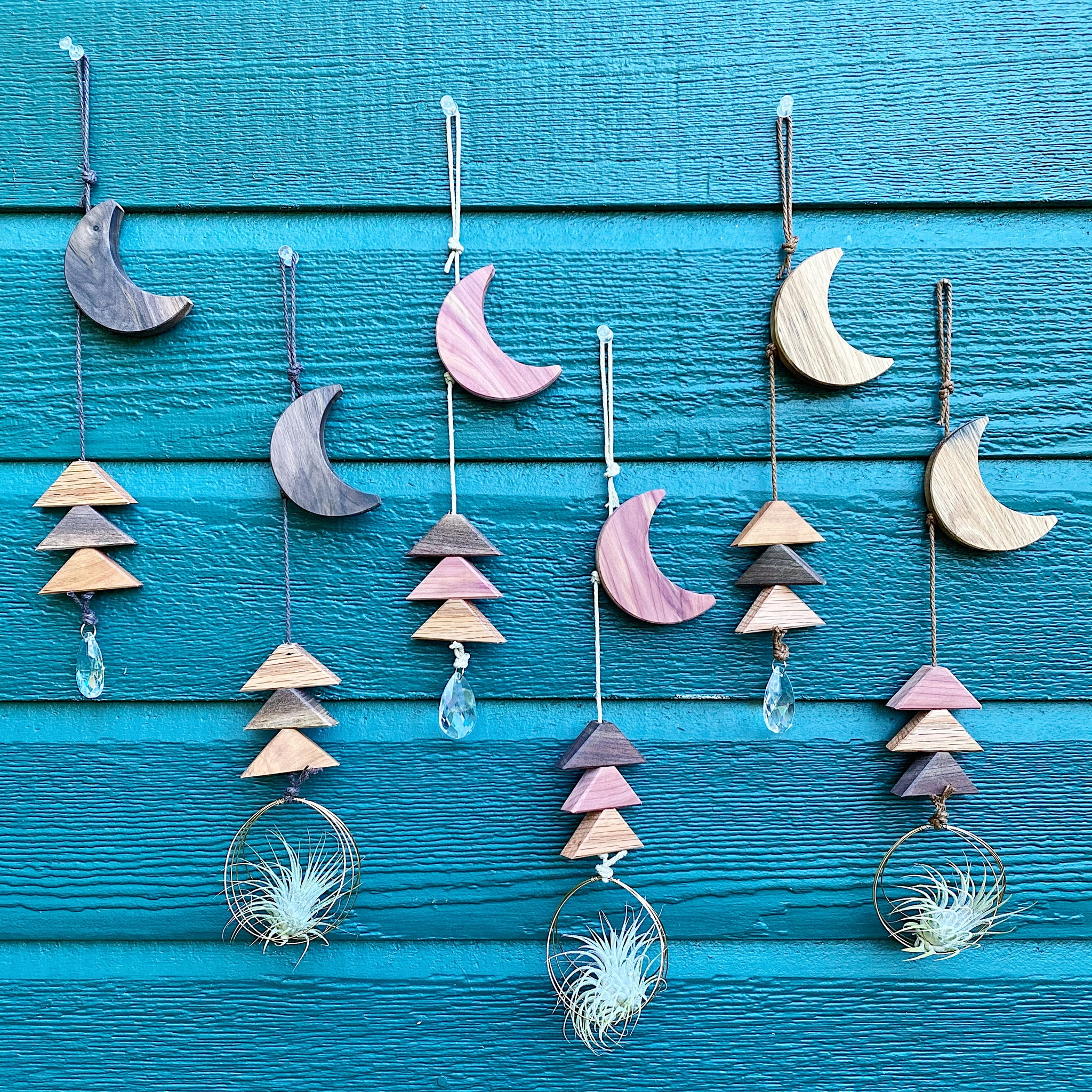 Moon over the Trees Wall Hanging