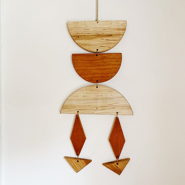 Modern Wood Wall Jewelry no.008