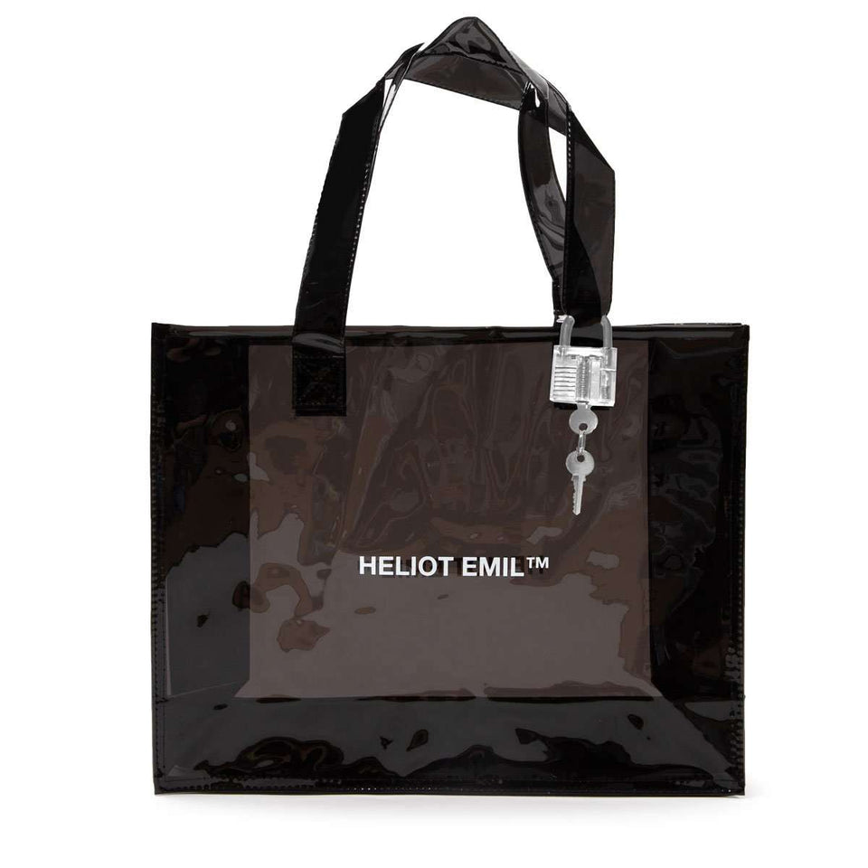 Heliot Emil Transparent Tote Bag