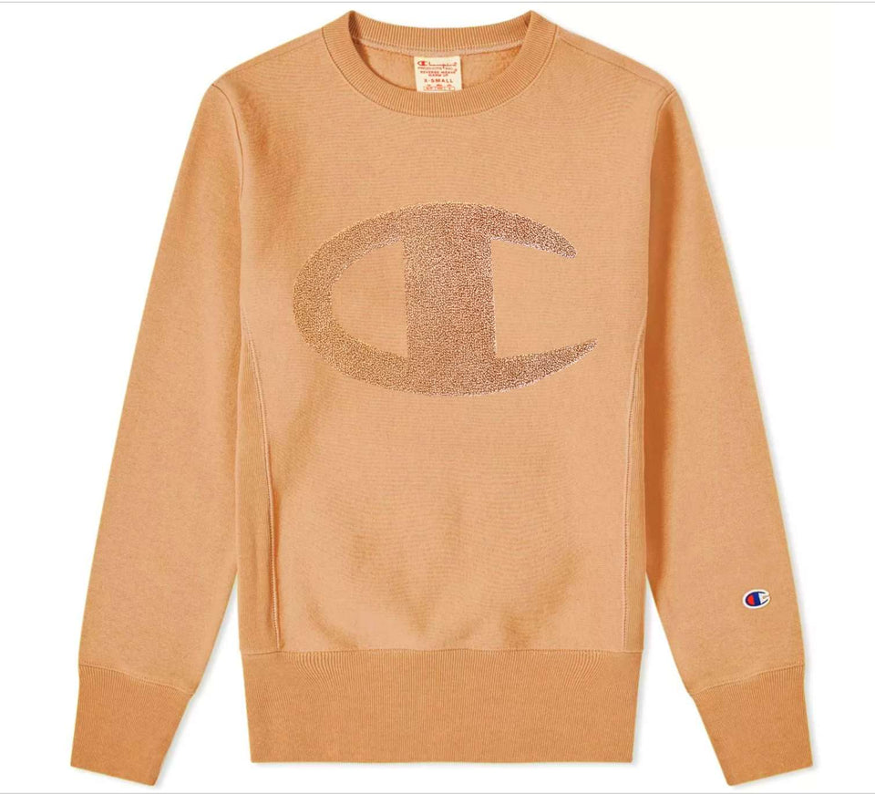 Champion Reverse Weave Terry Script Sweater
