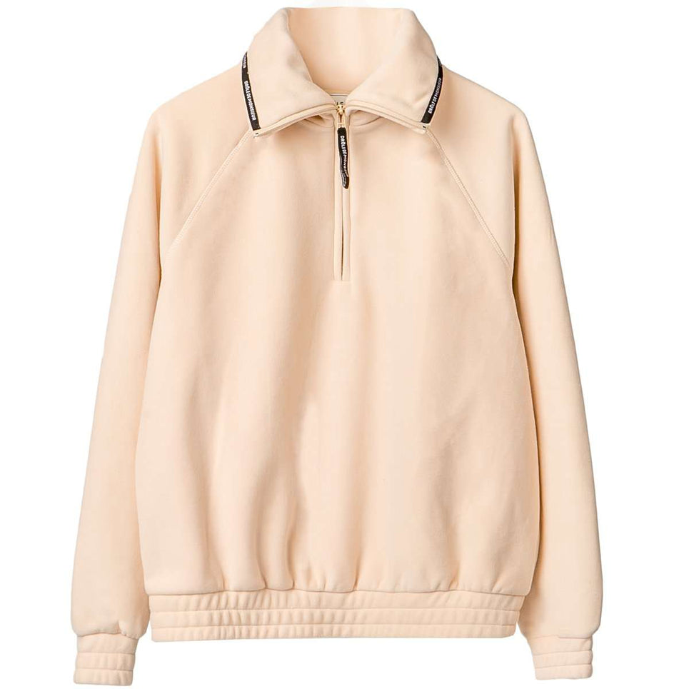 Drole De Monsieur Polar Funnel Neck Top