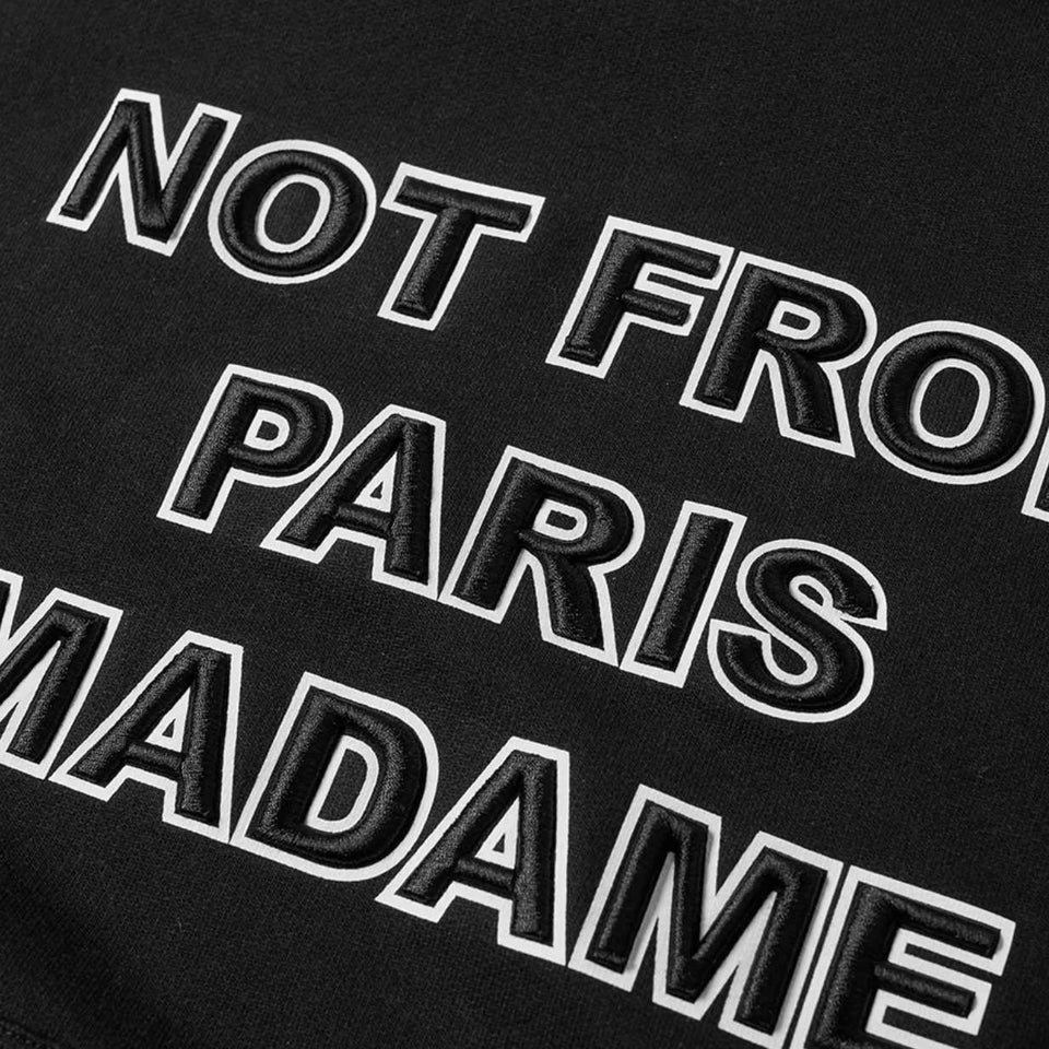 Drole De Monsieur Embroidered NFPM Hoodie