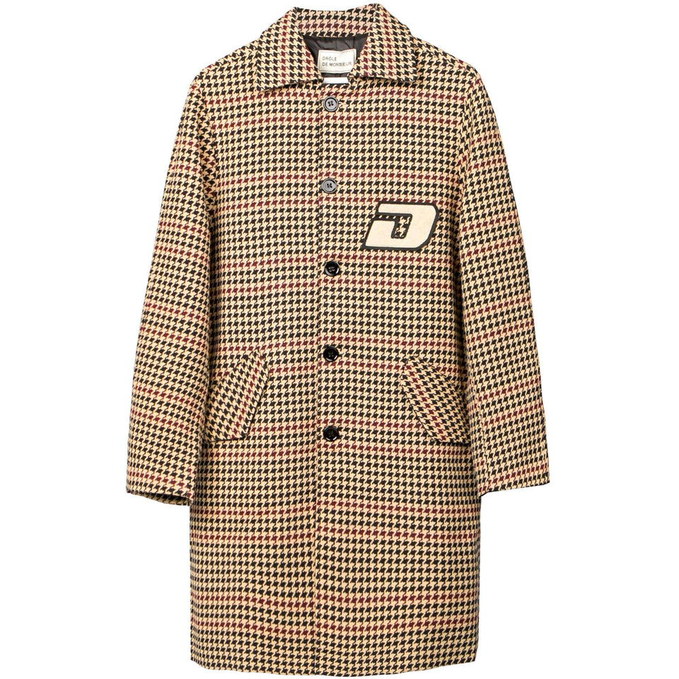 Drole De Monsieur Patched Long Coat