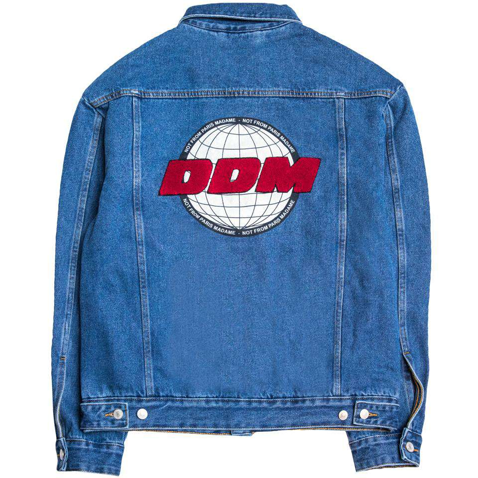 Drole De Monsieur Classic Denim Jacket