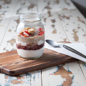 Almond Porridge Parfait