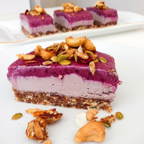 Acai Cheesecake - Paleo Hero