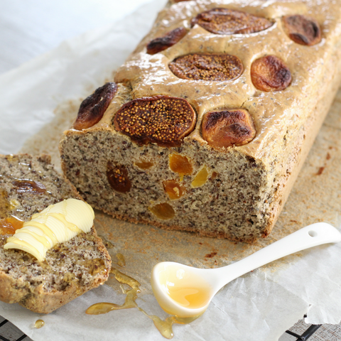 Fig & Apricot Loaf - Paleo Hero