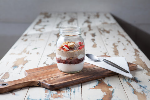 Almond Porridge Parfait | Paleo Recipes
