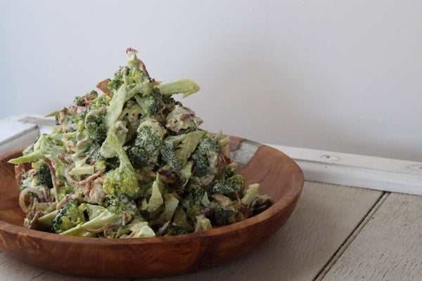 Bacon & Broccoli Salad - Paleo Hero