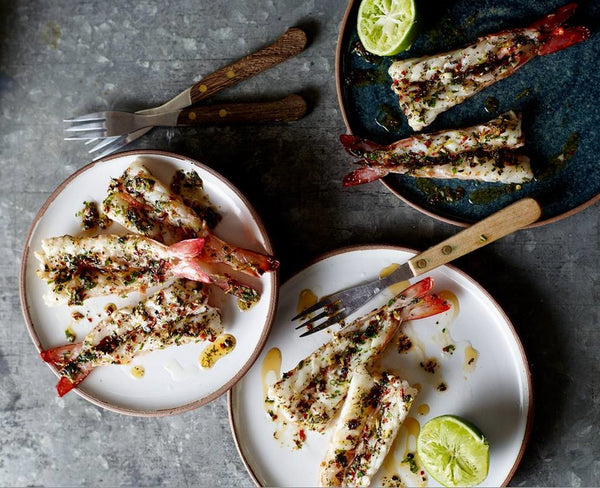 Grilled Prawns - Paleo Hero