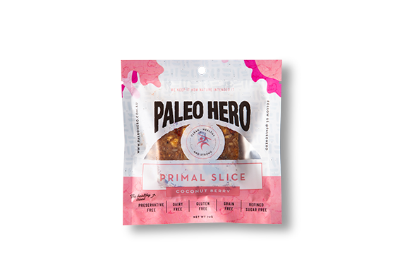 PRIMAL SLICE COCONUT BERRY 70g