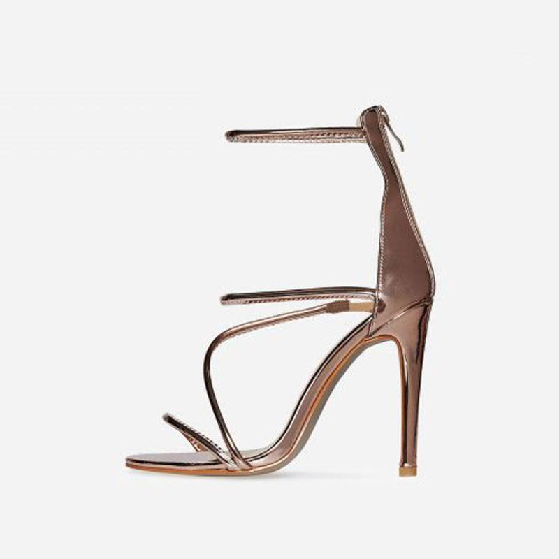 GIGI ROSE GOLD HEELS - Abuze shoes