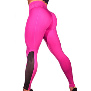 Mesh Push Up Workout Leggings