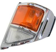 Corner Lamp Chrome  Left Hand To Suit 70 Series Land Cruisers