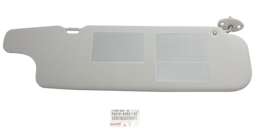 Sun Visor - Grey - To Suit 75 and 79 Series Landcruisers