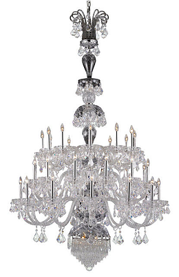 Custom Chandelier For Foyer, Hotel, Restaurant, Banquette hall - Torino Lighting Design