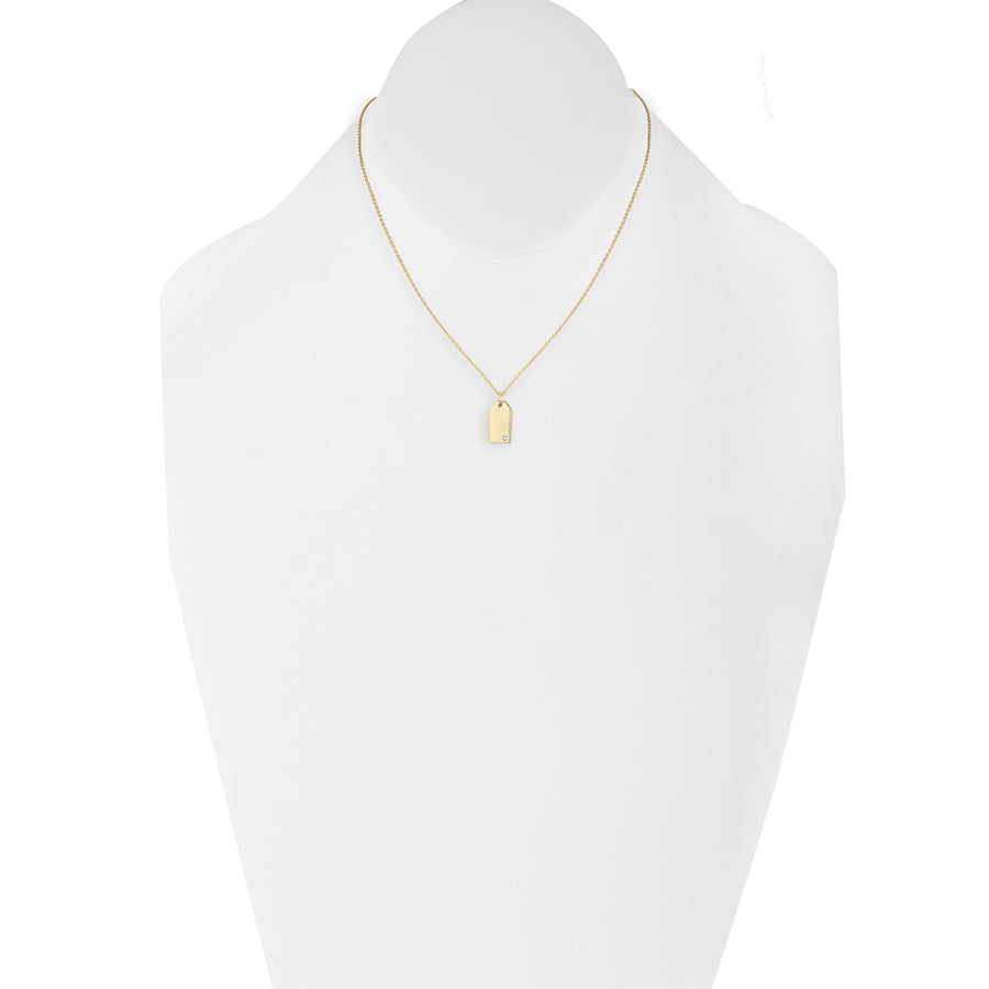 Petite Envelope Necklace