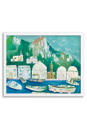 Bodrum Framed or Unframed Print