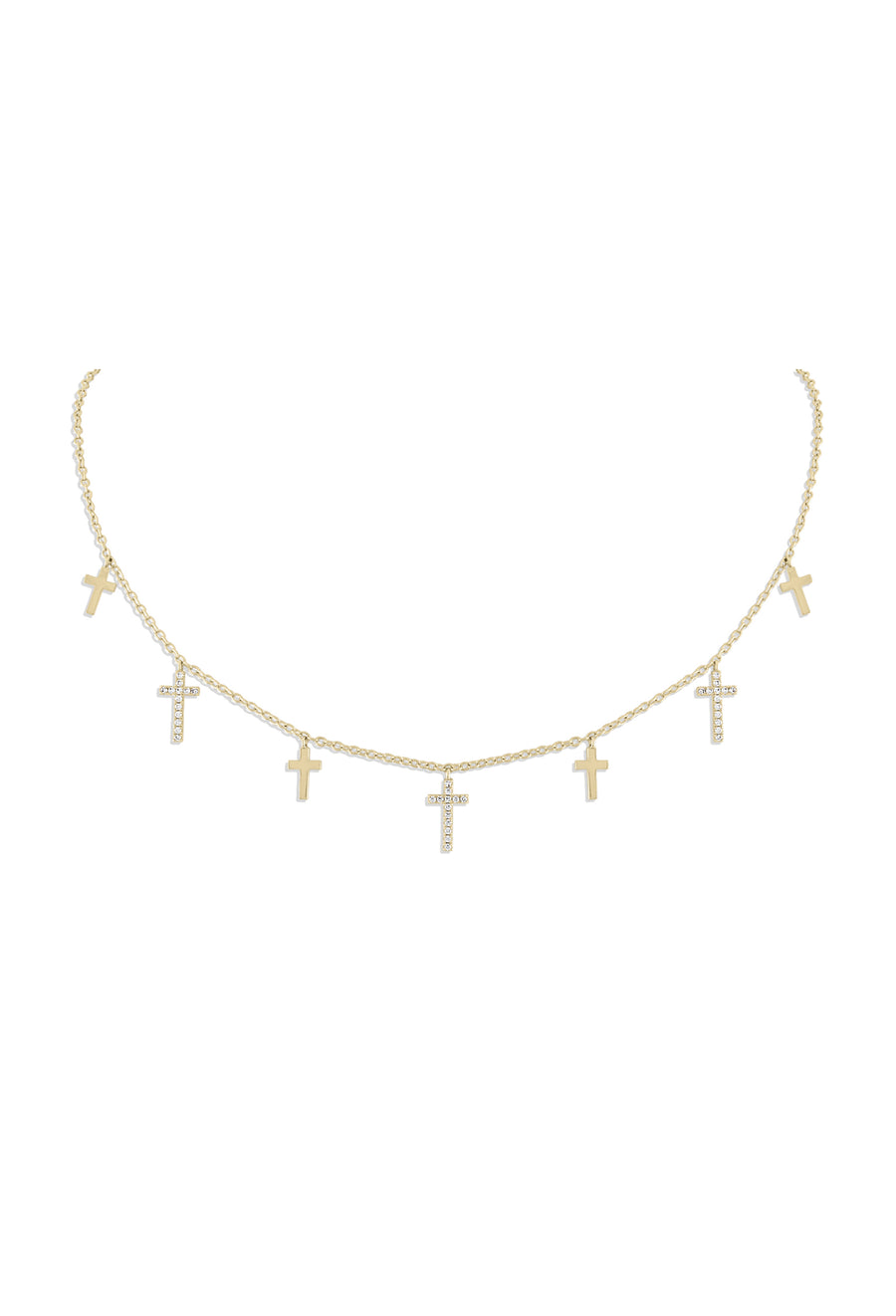 Faith Dangle Choker
